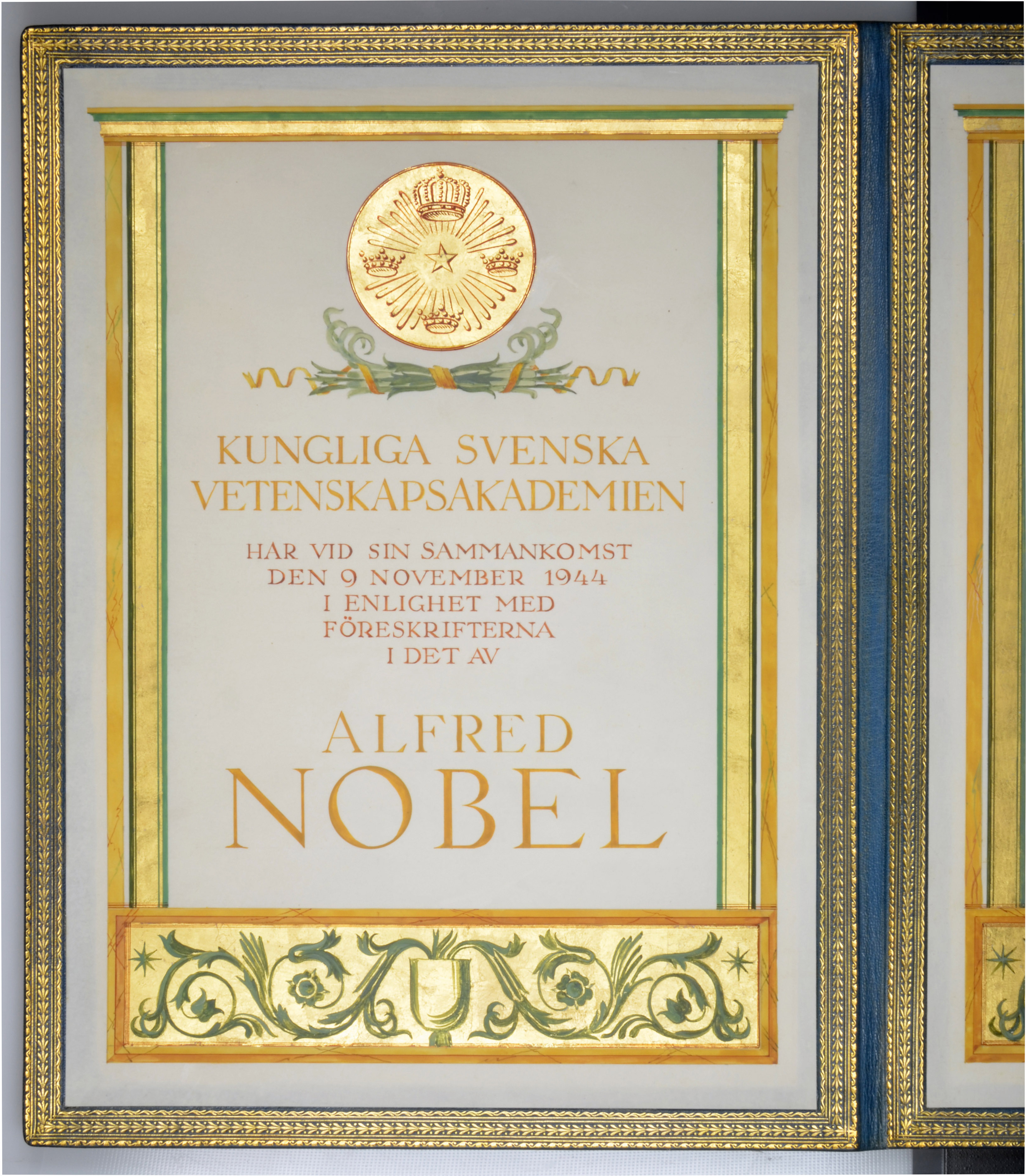 The Nobel Prize in Chemistry and three further medals awarded to George de Hevesy (1885-1966), - Image 16 of 17