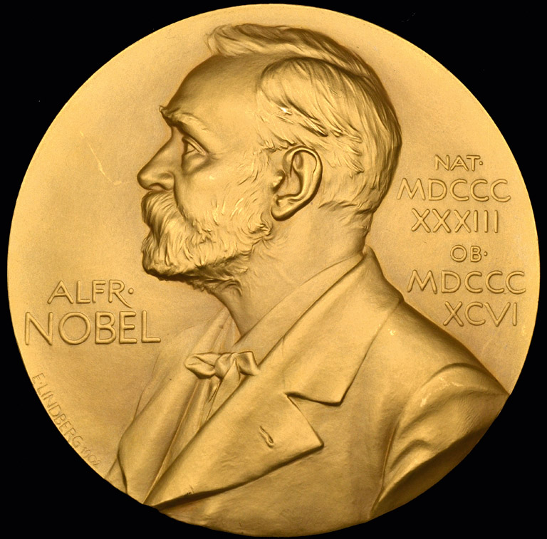 The Nobel Prize in Chemistry and three further medals awarded to George de Hevesy (1885-1966),