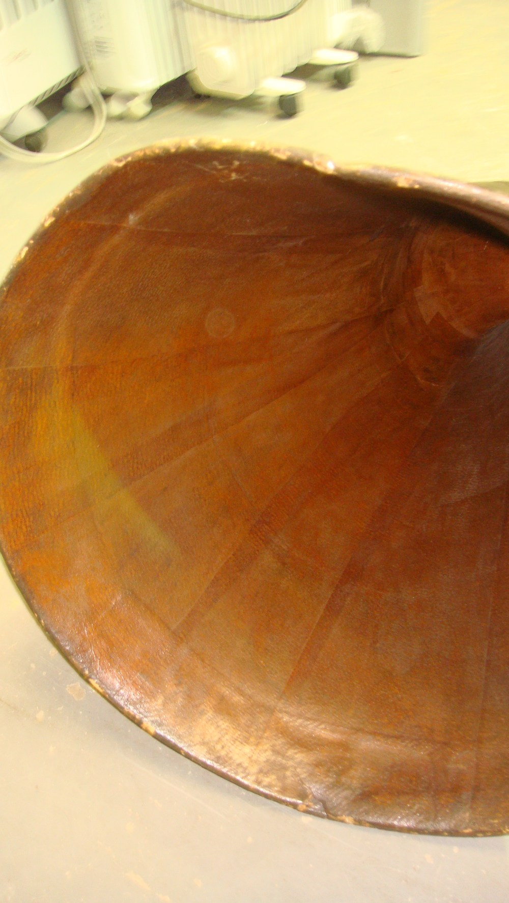 Lot 533 - 20th century EMG table top wind up gramophone in walnut inlaid case,