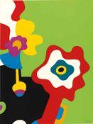 Otmar Alt (Wernigerode 1940) Ohne Titel, 1970 Farbige Serigraphie auf Velin. 65,5 x 50,5 cm.