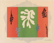 Henri Matisse (Le Cateau-Cambrésis 1869 - 1954 Nizza) 'The Dancer' aus 'Schools Prints European