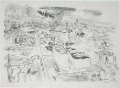 Oskar Kokoschka (Pöchlarn, Niederösterreich 1886 - 1980 Montreux, Schweiz) 'Berlin, Blick über die