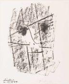 Pablo Picasso (Málaga 1881 - 1973 Mougins) 'Le Visage (Zu Ehren von Daniel-Henry Kahnweiler)',
