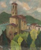 Rudolf Kalvach (Wien 1883 - 1932 Kosmonosy, Tschechische Republik) Ohne Titel (wohl Blick auf San