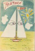 Jean Cocteau (Maisons-Lafitte bei Paris 1889 - 1963 Milly-la-Forêt bei Paris) 'Principauté de