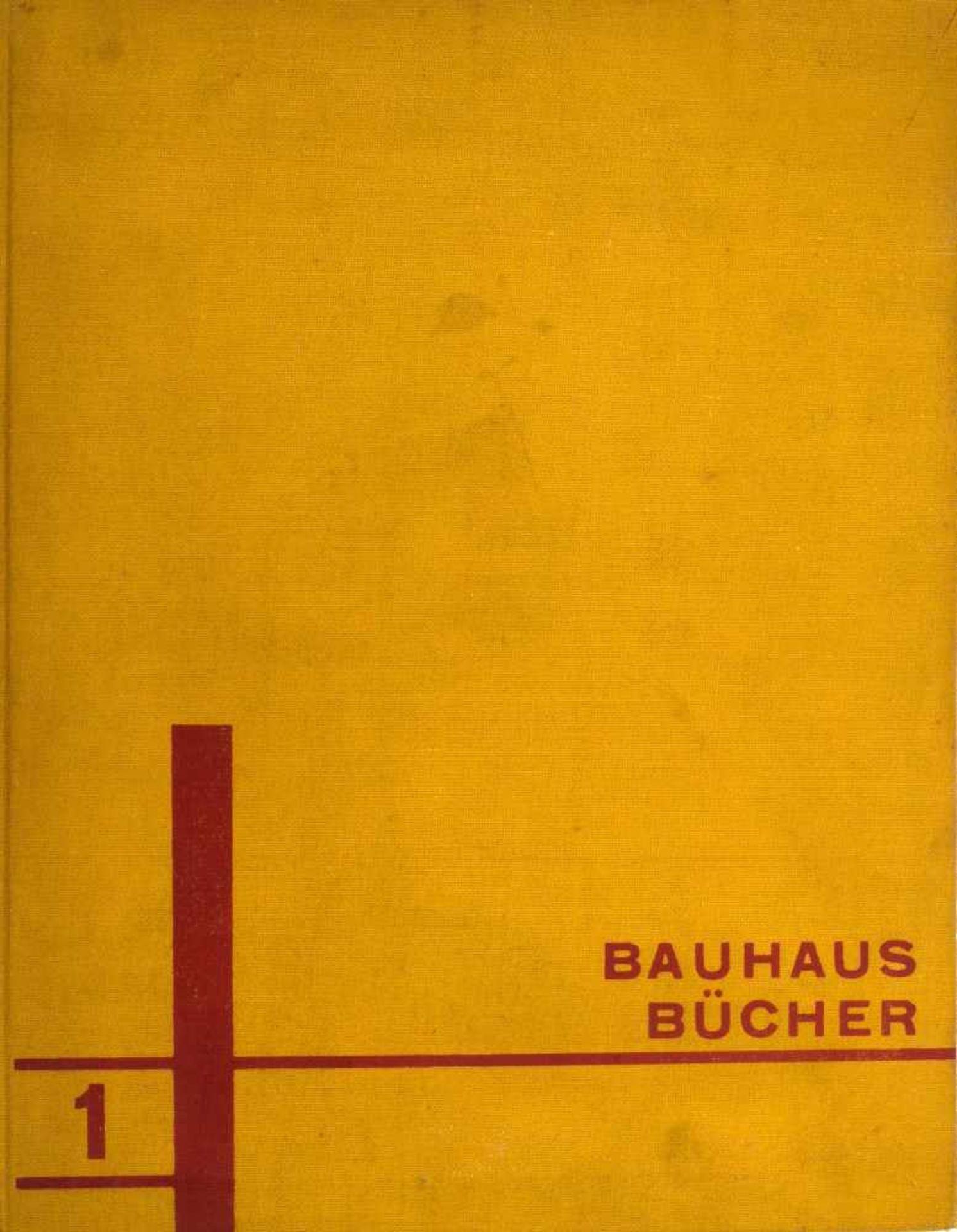 Walter Gropius; Laszlo Moholy-Nagy Bauhausbücher 1 Internationale Architektur, 1925 Walter Gropius/
