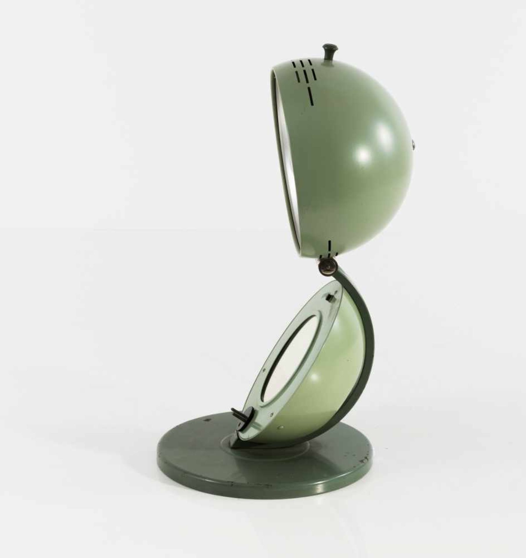 Los 46 - Quarzlampen Gesellschaft M.B.H., Hanau Höhensonne 'S100', 1930/40er Jahre H. 46,5 cm (