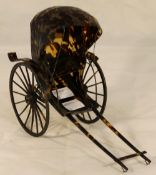 A model of a rickshaw
