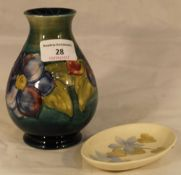 Two pieces of Moorcroft