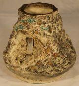 An unusual Japanese Satsuma vase
