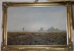 COULSON, Misty Sunrise, oil on canvas, signed and dated 1990,