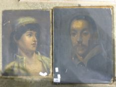 Two portraits,