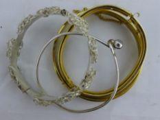 A small quantity of bracelets