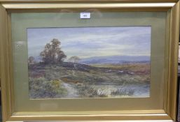 A pair of Victorian watercolours of country scenes