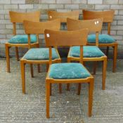 A set of six G-Plan dining chairs
