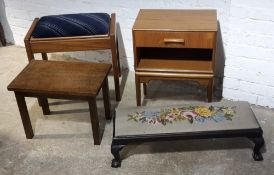 Two stools,