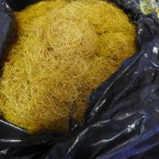 A quantity of horse hair