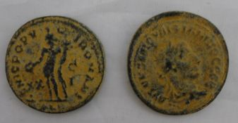 Two possibly antique struck coins