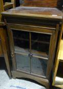 A Victorian mahogany music cabinet
