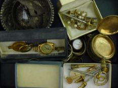 A quantity of costume jewellery, medallions,