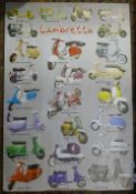 A Lambretta poster print