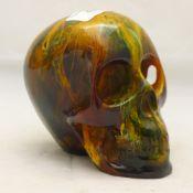 A model of a skull