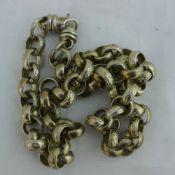 A silver chain
