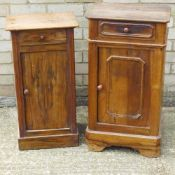 Two 19th century French pot cupboards