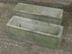 A pair of planters