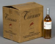 Triennes Rose 2010, Twelve bottles, cased. (12) CONDITION REPORTS: Generally good.