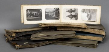 A quantity of early 20th century photography albums Comprising: early films,