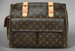 A modern Louis Vuitton classic monogram pattern handbag Housed in a Louis Vuitton outer bag.
