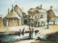 GEOFFREY GIFFORD watercolour