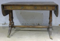 A yewwood sofa table