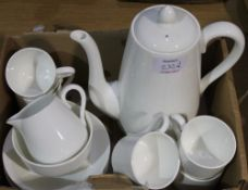 A Crown Staffordshire coffee set