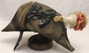 An antique bicorn hat