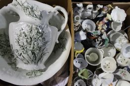 A quantity of various Victorian and later decorative china