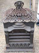 A cast iron heater