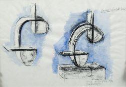 *AR DEE WHITTINGTON (20th century) British Study for Sculpture,