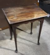 An 18th century side table