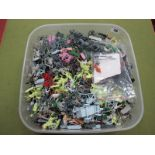 A Large Quantity of Modern 1:72nd Scale Plastic Civil War Figures and Equipment, overall good.