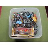A Quantity of Plastic Knights By British Makers Including Cherilea, Lone Star, plus a boxed Britains