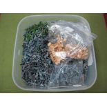 A Large Quantity of Modern Plastic 1:72nd Scale World War I Figurines and Equipment.