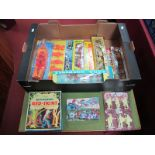 Eight Boxed/Carded Sets of Plastic/Composition Figures, including Red Indians and Pirates by Rob