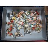 A Quantity of Plastic Ballet Dancers by Herald and Other Manufacturers, good to playworn.