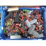 A Quantity of Mid XX Century and Later Plastic Figures by Airfix, Herald, Lone Star, Among Others,