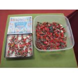 A Quantity of Plastic And Scottish Highlanders By Herald, Lone - Star including a box for Herald #