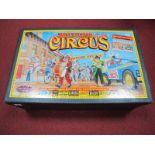 A 1990's Britains Set No. 08673 - Circus Parade Diorama, with Land Rover, boxed.