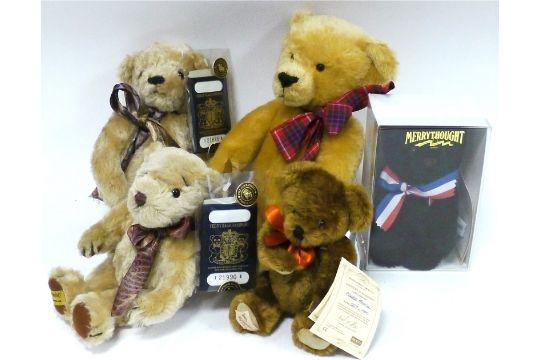 merrythought bears identification