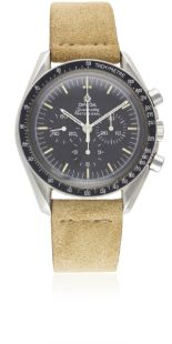 Lot 185 - A GENTLEMAN'S STAINLESS STEEL OMEGA SPEEDMASTER PROFESSIONAL CHRONOGRAPH WRIST WATCH CIRCA 1978,